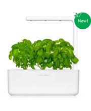 Click and Grow chytrý květináč pro pěstování bylinek, zeleniny a ovoce, bílý