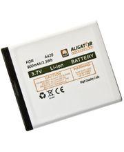 Aligator baterie pro A420/V500, 900mAh, eko-balení